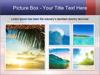 Bright Sun And Coconut Tree PowerPoint Template - Slide 19