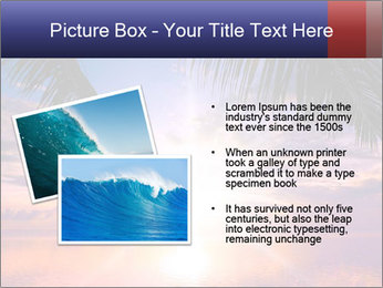 Bright Sun And Coconut Tree PowerPoint Templates - Slide 20
