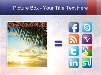 Bright Sun And Coconut Tree PowerPoint Template - Slide 21