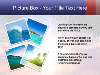Bright Sun And Coconut Tree PowerPoint Template - Slide 23