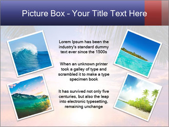 Bright Sun And Coconut Tree PowerPoint Template - Slide 24