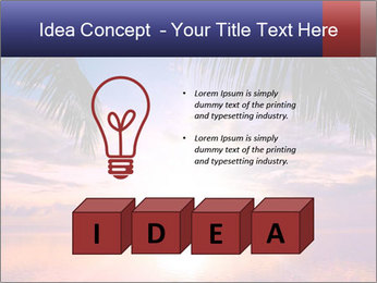 Bright Sun And Coconut Tree PowerPoint Template - Slide 80