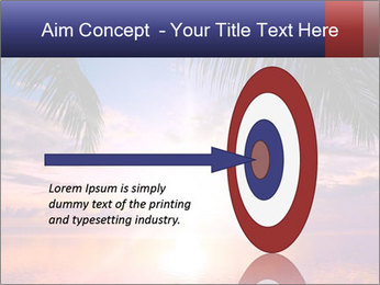 Bright Sun And Coconut Tree PowerPoint Template - Slide 83
