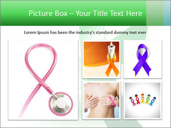 Green Cancer Symbol PowerPoint Templates - Slide 19