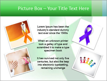 Green Cancer Symbol PowerPoint Templates - Slide 24