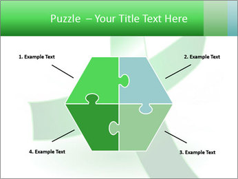 Green Cancer Symbol PowerPoint Templates - Slide 40