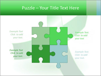 Green Cancer Symbol PowerPoint Templates - Slide 43
