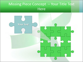Green Cancer Symbol PowerPoint Templates - Slide 45