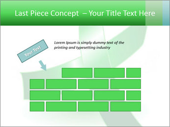 Green Cancer Symbol PowerPoint Templates - Slide 46