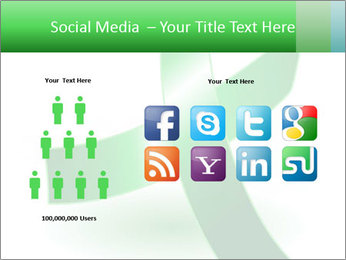 Green Cancer Symbol PowerPoint Templates - Slide 5