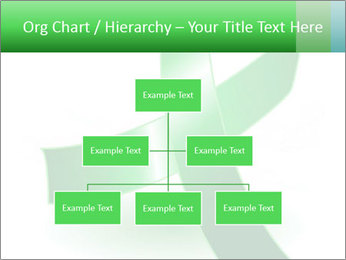 Green Cancer Symbol PowerPoint Templates - Slide 66