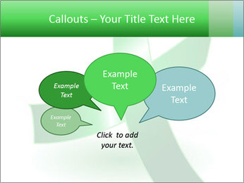 Green Cancer Symbol PowerPoint Templates - Slide 73