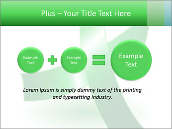 Green Cancer Symbol PowerPoint Templates - Slide 75