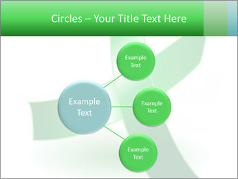 Green Cancer Symbol PowerPoint Templates - Slide 79