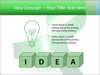Green Cancer Symbol PowerPoint Templates - Slide 80