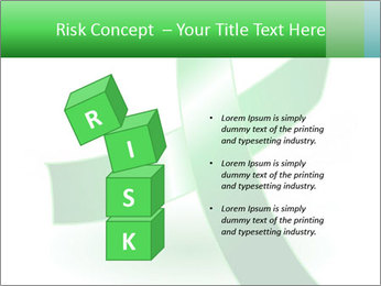 Green Cancer Symbol PowerPoint Templates - Slide 81