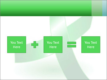Green Cancer Symbol PowerPoint Templates - Slide 95