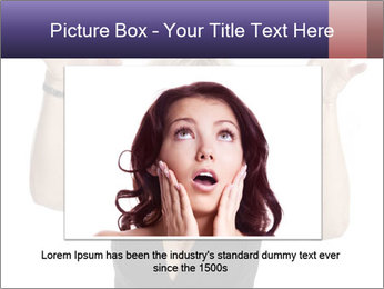 Irritated Middle-Aged Woman PowerPoint Template - Slide 15