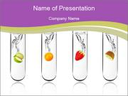 Chemical Fruits PowerPoint Templates