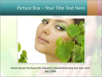 Spring Lady PowerPoint Template - Slide 16