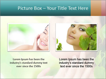 Spring Lady PowerPoint Template - Slide 18