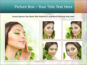 Spring Lady PowerPoint Template - Slide 19