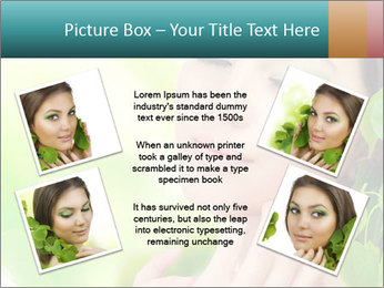 Spring Lady PowerPoint Template - Slide 24