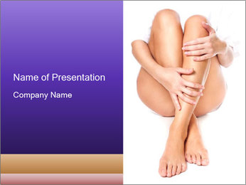 Female Wellbeing PowerPoint Template