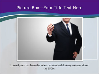 Man Drawing Business Tactic PowerPoint Template - Slide 16