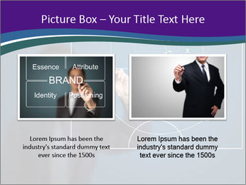 Man Drawing Business Tactic PowerPoint Template - Slide 18
