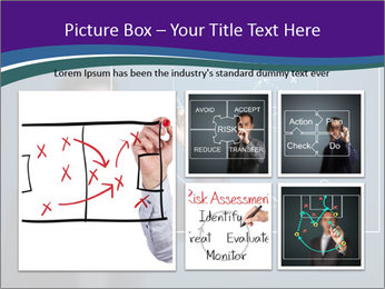 Man Drawing Business Tactic PowerPoint Template - Slide 19