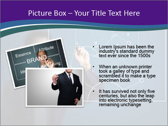 Man Drawing Business Tactic PowerPoint Template - Slide 20
