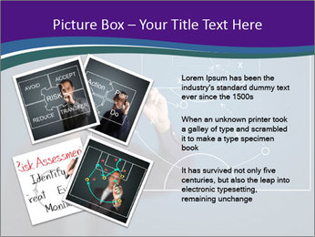 Man Drawing Business Tactic PowerPoint Template - Slide 23