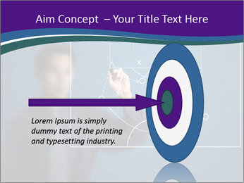 Man Drawing Business Tactic PowerPoint Template - Slide 83