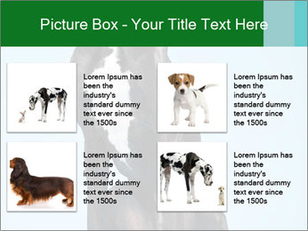 Big Black Dog PowerPoint Template - Slide 14