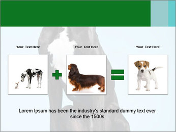 Big Black Dog PowerPoint Template - Slide 22