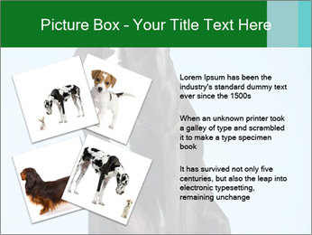 Big Black Dog PowerPoint Template - Slide 23
