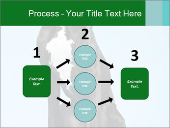 Big Black Dog PowerPoint Template - Slide 92