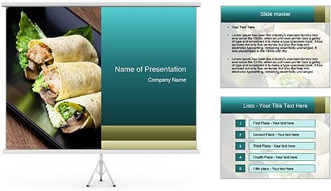 Mexican Dish PowerPoint Template