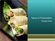 Mexican Dish PowerPoint Templates