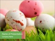 Eggs Decoration PowerPoint Templates