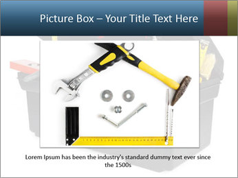 Big Box Full Of Instruments PowerPoint Template - Slide 15