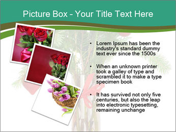 Red Flowers In Vase PowerPoint Templates - Slide 17
