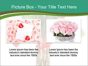Red Flowers In Vase PowerPoint Templates - Slide 18