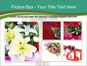 Red Flowers In Vase PowerPoint Templates - Slide 19