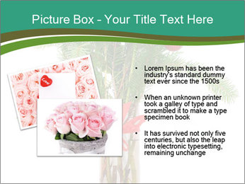 Red Flowers In Vase PowerPoint Templates - Slide 20