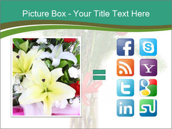 Red Flowers In Vase PowerPoint Templates - Slide 21