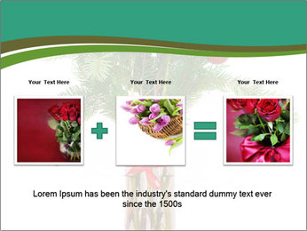 Red Flowers In Vase PowerPoint Templates - Slide 22