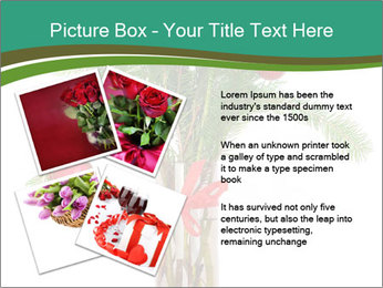 Red Flowers In Vase PowerPoint Templates - Slide 23