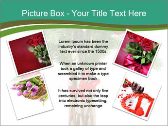 Red Flowers In Vase PowerPoint Templates - Slide 24